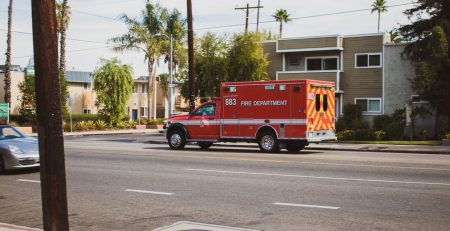 Corpus Christi TX - Two-Car Crash with Injuries on Baldwin Blvd