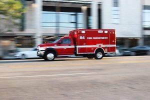 Corpus Christi TX - One Hospitalized after Car Crash on S Staples St
