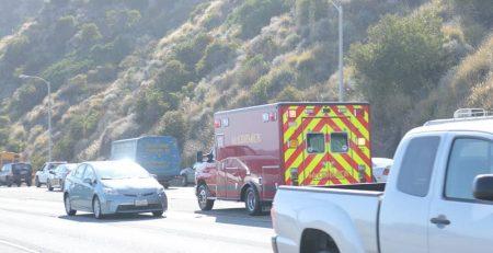 San Antonio, TX - Serious Car Wreck on I-35 at Nogalitos St